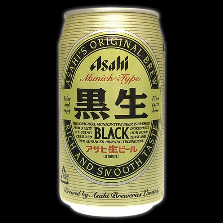アサヒ 黒生商品画像