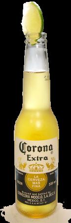 コロナ・エキストラ瓶グラス画像