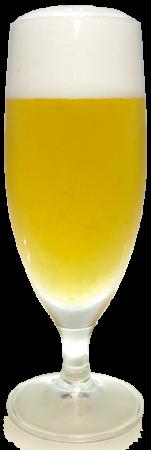 ヒルゼン高原ビールグラス画像