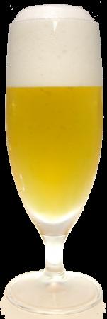 こしひかり越後ビールグラス画像