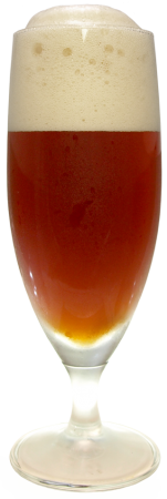 プレミアムレッドエール エチゴビールグラス画像