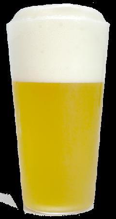 銀河高原ビールグラス画像