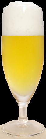 ヒナノビールグラス画像