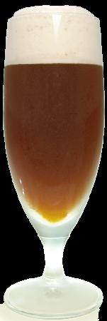 ニューキャッスル・ブラウンエールグラス画像