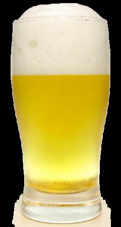 サッポロ クリーミーホワイトグラス画像
