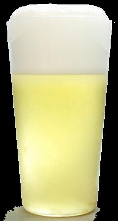 ベルジャン ホワイト にごり白生グラス画像
